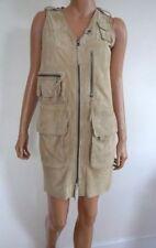 Ralph Lauren Leather Sleeveless Dresses for Women
