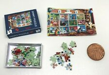 Dolls House Miniature Jigsaw Puzzle (DD432-DD443) Additional Items P&P FREE