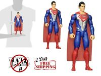 Justice League Superman Armor Action Figure True to Movies Styling 12 Inches