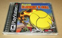 All-Star Slammin' D-Ball for Playstation PS1 Complete Fast Shipping!