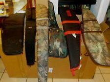 Lot of 4 Rifle Soft Cases Various Brands Redhead Blacksheep Kolpin Allen Pit Bul