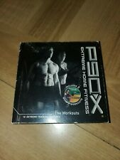 Beachbody P90X Extreme Home Fitness Workout 12 Disc DVD Set ACCEPTABLE CONDITION