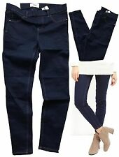 NEW IN Fabulous Comfy NEW LOOK Navy Denim Blue Jeggings 8 10 12 14 16 18