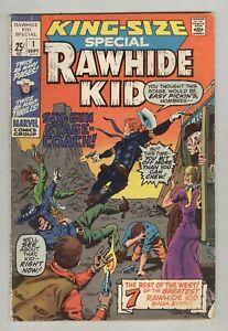 Rawhide Kid King-Size Special #1 September 1971 Jack Kirby art, VG