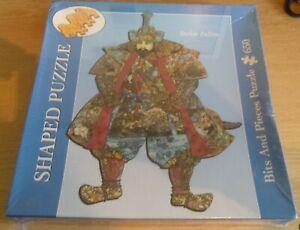 New & Sealed 2005 Bits & Pieces Samurai Warrior 650 Piece Shaped Jigsaw Puzzle