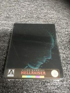 New & Sealed UK Edition Hellraiser Steelbook Blu-ray . Arrow. Freepost In Uk.