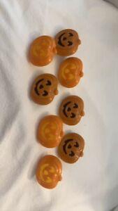 🎃Jack O' Lantern Cupcake Rings Cake Toppers 24 Party Favor  Decopac Halloween
