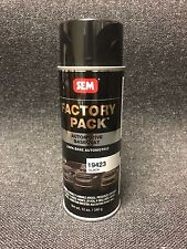 GM Paint Code WA8555 BLACK Factory Pack Aerosol (SEM-19423)