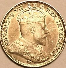 1906 CANADA SILVER 5 CENTS COIN - Excellent example!