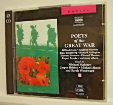 POETS OF THE GREAT WAR - X 2 CD Audio Book - (CD 1997)**EXC**