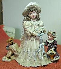 "Yesterday's Child Figurine, Young Girl's Wedding Dress ""I Wanna Be...A Bride"""