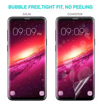 For Galaxy S8 S9 S9 Plus Flex Full Coverage Soft TPU Screen Protector