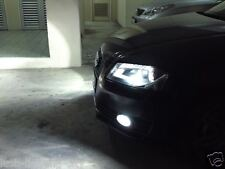 AUDI A3 8P H11 FOG LIGHT LED HID LOOK  6000K PURE WHITE XENON LOOK CANBUS A4 B6