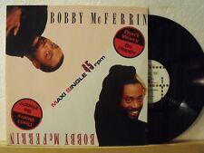 "12"" Maxi - BOBBY McFERRIN - Don´t Worry Be Happy - 4:51 - EMI Manhattan 1988"