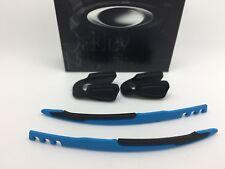 AUTHENTIC OAKLEY JAWBREAKER EAR SOCKS & NOSE PADS KIT Sky Blue / Black nose pad