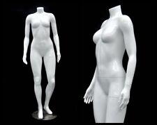Female Fiberglass Headless Petite mannequin Body Dress Form #Md-Gpx02Bw1