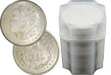 Rollo de 20 1921 $1 Morgan P D S dólares de plata sobre au Uncirculated