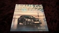 Lexus GS Brochure 2014 - Sep 2013 issue