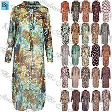 Unbranded Long Sleeve Shirt Dresses for Women