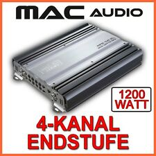 1200watt Mac Audio mpe4.0xl 4-kanal ETAPA DE SALIDA DEL AMPLIFICADOR HIFI COCHE