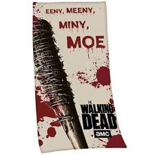Officiel The Walking Dead Lucille Eeny Meeny Serviette de Bain de Plage Coton