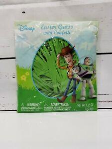 Disney Pixar - Toy Story Easter Grass With Confetti (1.25 oz) NEW~ON HAND