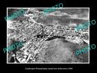 OLD LARGE HISTORIC PHOTO OF COUDERSPORT PENNSYLVANIA, AERIAL VIEW OF TOWN c1940