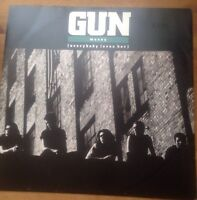 "GUN - Money 1989 12"" Vinyl Maxi Single - A&M Records AMY520"