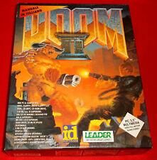 DOOM II 2 Pc Versione Italiana1ª Edizione Big Box Floppy Disk ○ COMPLETO - E5
