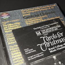 MMOA Carols Christmas VHS Aled Jones Royal College Music Gerald Finley Choir