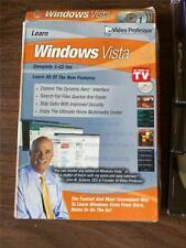 Video Professor Learn Windows Vista Complete 3-Cd Set Pre-Owned