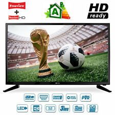 "Estar D2T2 32"" Inch HDR LED Digital Freeview TV 3 X HDMI USB PVR"