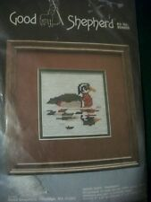 "Good Shepherd ""Wood Duck"" Needlepoint Kit Size 5"" x 5"" Date 1984"