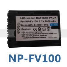 NP-FV100 Battery For Sony DCR-SX63 DCR-SX65 DCR-SX83 DCR-SX85 Handycam Camcorder