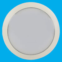 16W LED Outdoor Round White IP66 Bulkhead Patio Garden Wall Lamp Security Light