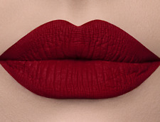DOSE OF COLORS LIQUID MATTE LIPSTICK EXTRA SAUCY DEEP RED HOLIBAE LimitedEdition