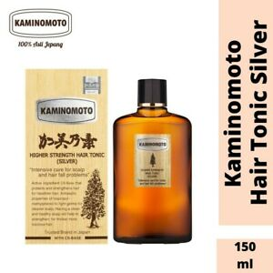 ORIGINAL JAPAN KAMINOMOTO (SILVER) HIGHER STRENGTH HAIR TONIC 150ML