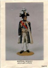 TRADITION MODEL SOLDIER - MARSHAL MONCEY GRAN GALA' UNIFORM - 54mm METAL