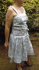 Summer ladies dress - vintage style -Battibaleno - size 10 - floral pattern