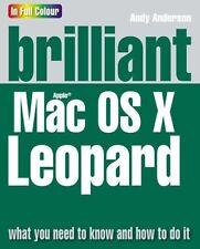 NEW BOOK Brilliant Mac OSX Leopard 2ND QUALITY