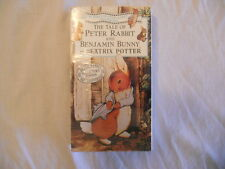The Tale of Peter Rabbit & Benjamin Bunny-Beatrix Potter 1993 VHS / Brand New