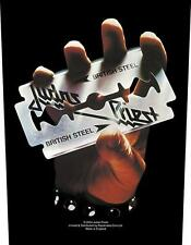 "JUDAS PRIEST RÜCKENAUFNÄHER / BACKPATCH # 5 ""BRITISH STEEL"""