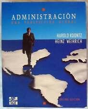 ADMINISTRACIÓN - UNA PERSPECTIVA GLOBAL - McGRAW-HILL 1994 -VER ÍNDICE