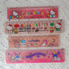 Vintage Ruler Kiki & Lala Hello Kitty Japan SANRIO 1989