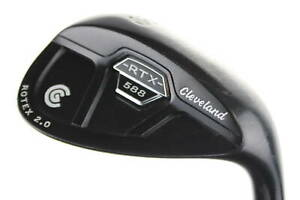 Cleveland 588 RTX 2.0 CB Black Satin Lob Wedge 60° Right-Handed Steel #15430