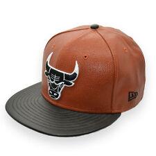NEW ERA CHICAGO BULLS NBA BASKETBALL CONCEPT 59FIFTY BROWN CAP