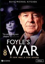 Foyles War:Set 8 (DVD, 2015, 3-Disc Set) NEW Season Series