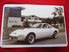 1973 OPEL GT    11 X 17  PHOTO   PICTURE