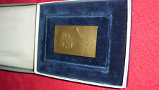 Relief-Medaille P. Michael Hersan (Künstler Fec-Hans Schaefer)