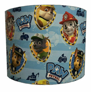 Paw Patrol Lampshade Ideal To Match Paw Patrol Duvet Covers Paw Patrol Wallpaper